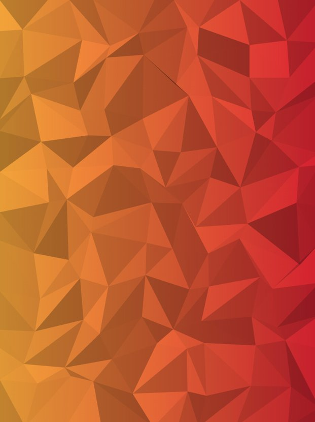 Background pattern of low poly triangles.